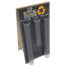 Coffee Cup Recycling Stations