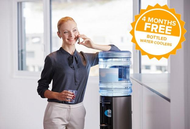Bottled Water Coolers 4 Months Free Today