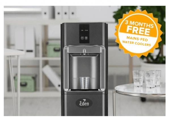 Mains Fed Water Cooler Offer 3 Months Free